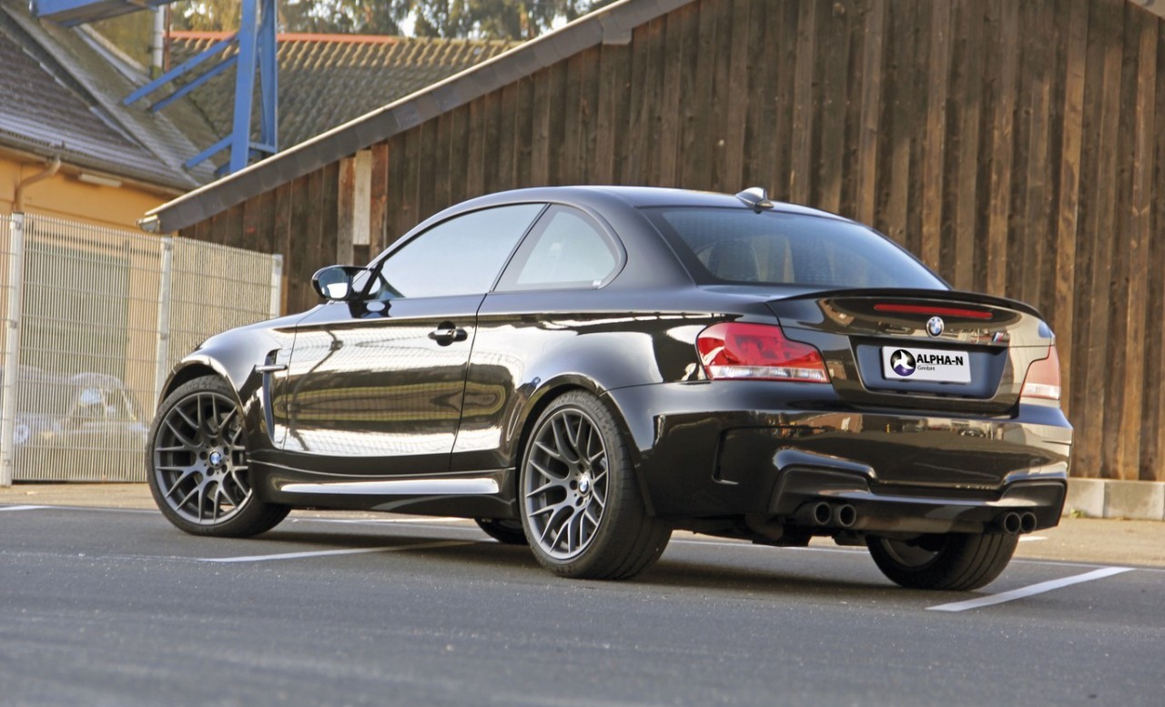 alpha n develops tuning package for bmw 1 series m coupe performancedrive. Black Bedroom Furniture Sets. Home Design Ideas