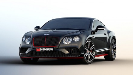 Bentley Continental GT V8 'Monster by Mulliner' edition announced