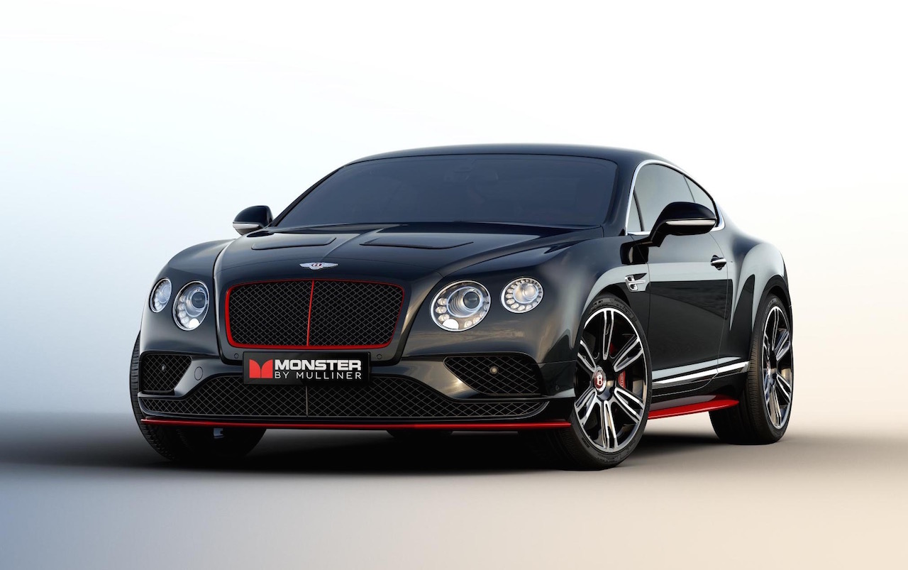 Bentley Continental Gt V8 Monster By Mulliner Edition