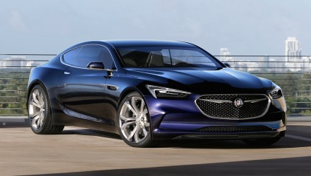 Buick Avista concept unveiled at Detroit auto show
