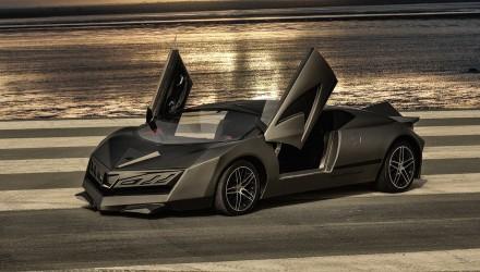 800hp Elibriea concept debuts at Qatar Motor Show