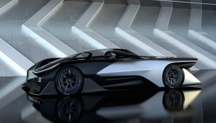 1000hp Faraday Future FZERO1 EV concept racer revealed (video)