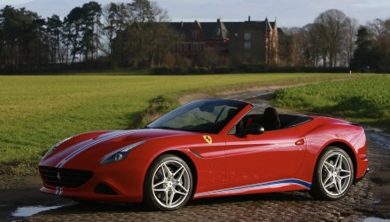 Ferrari California T shows off Tailor Made possibilities