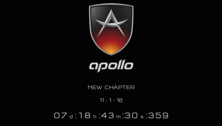 New Gumpert Apollo coming, company renamed Apollo Automobil