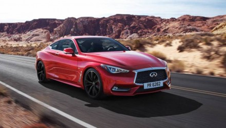 Infiniti Q60 revealed as company's new sports coupe, up to 298kW