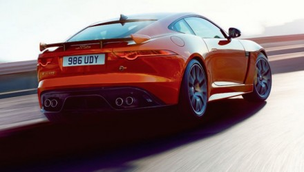 Jaguar F-Type SVR revealed in leaked images, new flagship