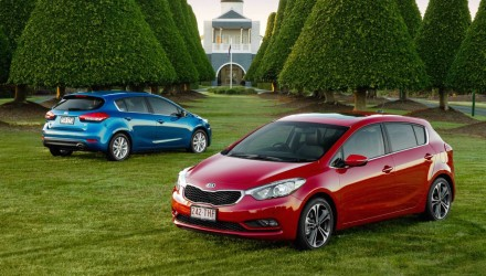 Top 10 best-selling small cars in Australia during 2015