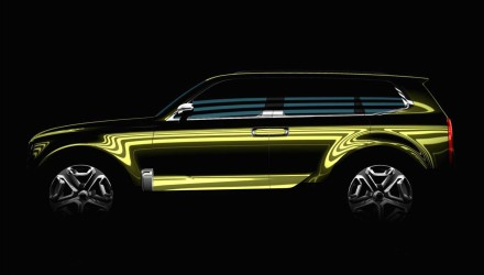 Kia KCD12 concept previewed, to inspire new large luxury SUV