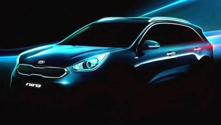 Kia Niro HUV concept previewed, new hybrid compact SUV