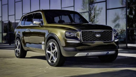 Kia Telluride concept revealed, possible large SUV above Sorento