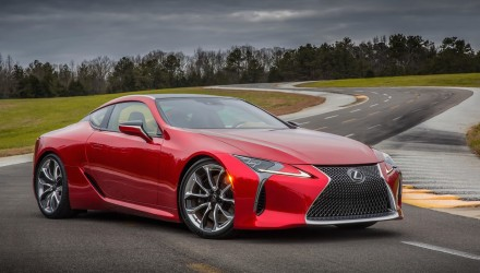 Lexus LC 500 unveiled with 10spd auto, confirmed for Australia
