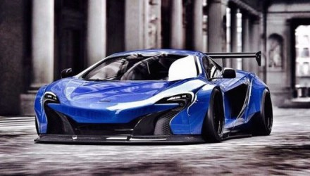 Liberty Walk plans epic wide-body kit for McLaren 650S
