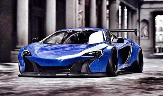 Liberty Walk McLaren 650S-preview