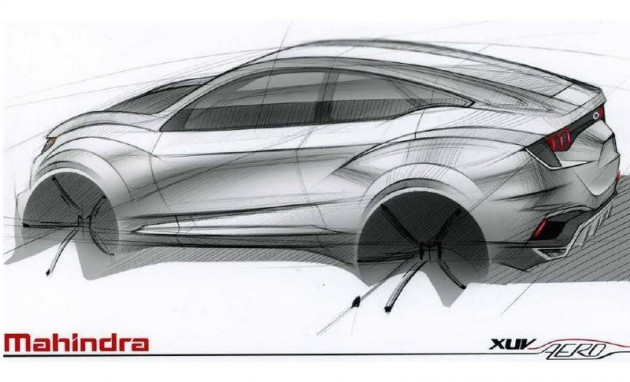 Mahindra XUV Aero concept preview