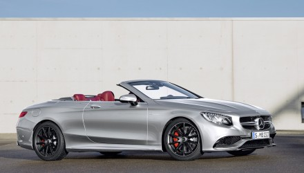 Mercedes-AMG S 63 Cabrio Edition 130 celebrates birth of motorcar