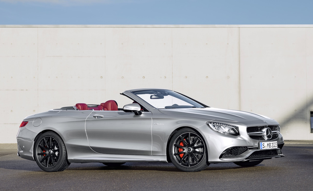 mercedes amg s 63 cabrio edition 130 celebrates birth of. Black Bedroom Furniture Sets. Home Design Ideas