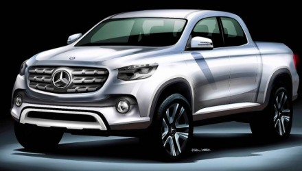 Mercedes-Benz pickup ute to be named Z-Class or X-Class – rumour