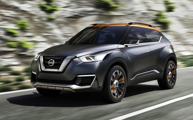 Nissan Kicks concept crossover