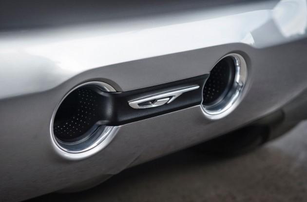 Opel GT Concept-exhaust