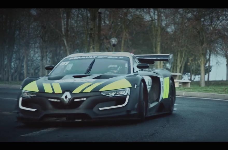 Video Renault R S 01 Interceptor Is One Cool Police Car