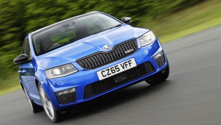 Skoda Octavia vRS offered with 4×4 option in the UK