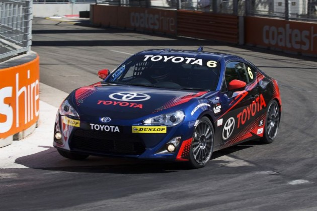 Toyota 86 Racing Series car