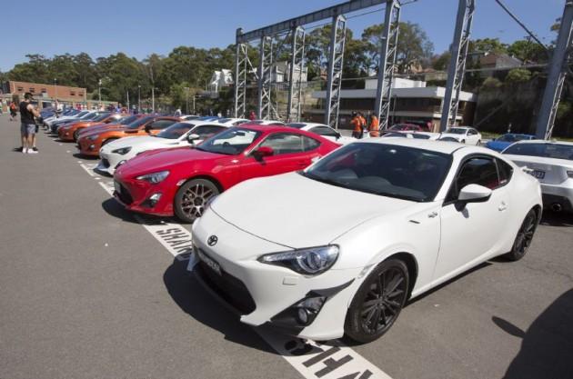 Toyota 86 festival