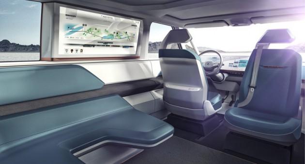 Volkswagen BUDD-e concept-screen