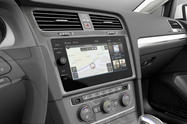 Volkswagen e-Golf Touch interface concept