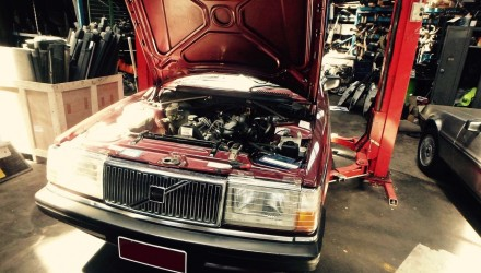 Volvo 240 GL with LS1 V8 conversion project: Part 5 – sump & radiator