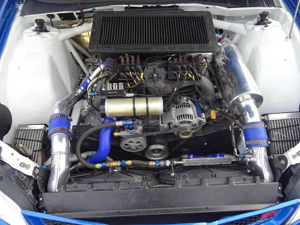 For Sale: Petter Solberg\'s 2007 Subaru WRC S12B rally car ...