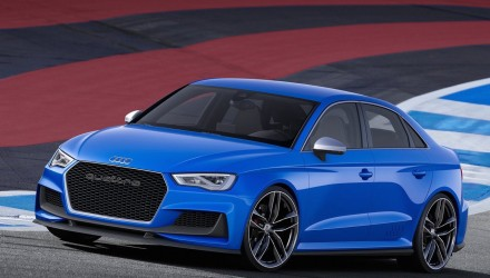 Audi RS 3 sedan in the works, new 2.5T with 300kW – report