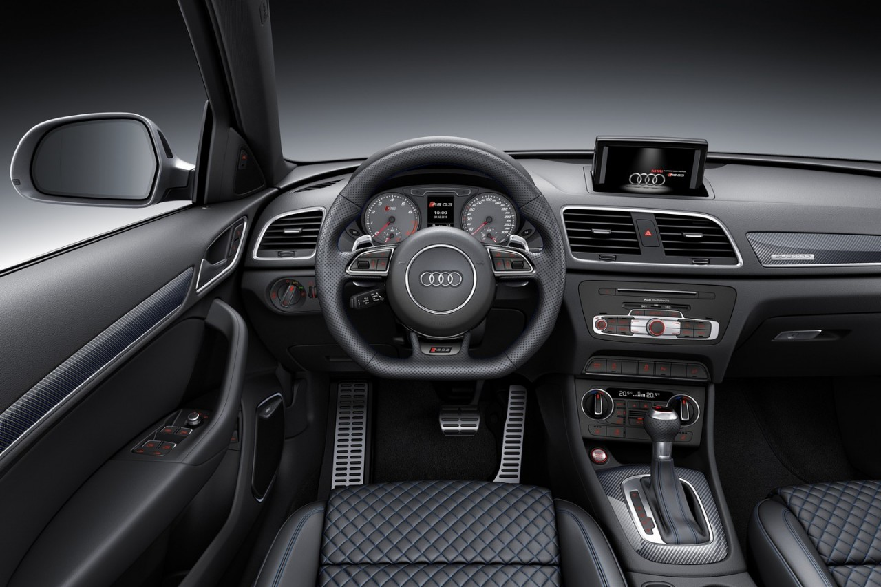 audi rs q3 39 performance 39 variant revealed quickest suv in. Black Bedroom Furniture Sets. Home Design Ideas