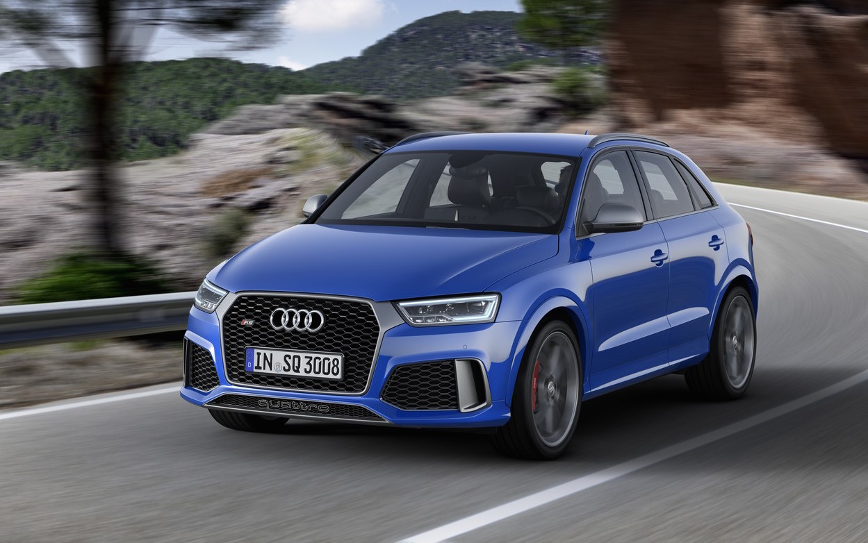 audi rs q3 39 performance 39 variant revealed quickest suv in class performancedrive. Black Bedroom Furniture Sets. Home Design Ideas