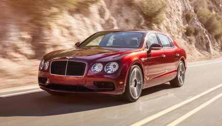 Bentley Flying Spur V8 S revealed ahead Geneva debut