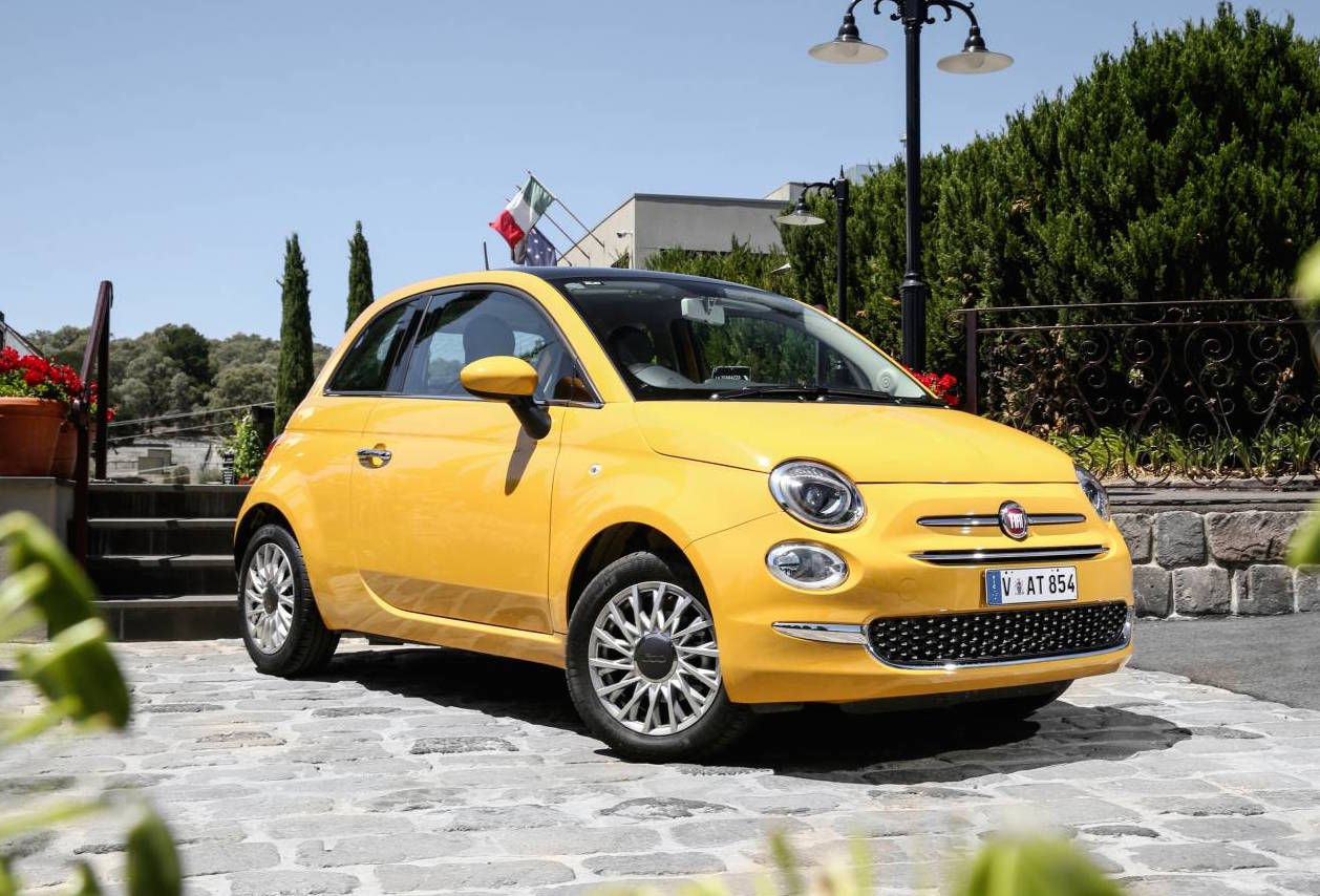 2016 fiat 500 now on sale in australia in from 18 000 performancedrive. Black Bedroom Furniture Sets. Home Design Ideas