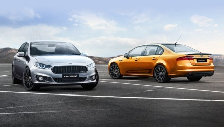 2016 Ford Falcon XR6 Sprint & XR8 Sprint specs confirmed