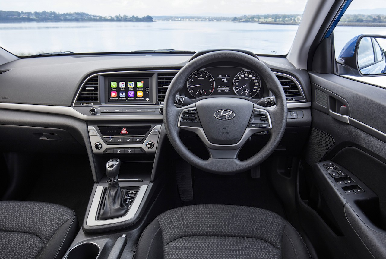 2016 hyundai elantra on sale in australia from 21 490 performancedrive. Black Bedroom Furniture Sets. Home Design Ideas