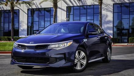 2017 Kia Optima Hybrid & Optima PHEV unveiled at Chicago show