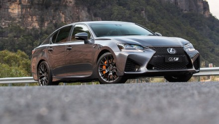 Lexus GS F now on sale in Australia from $148,800