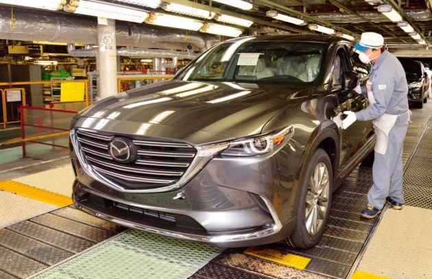 2016 Mazda CX-9-production