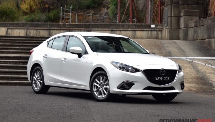 Mazda3 Touring sedan review (video)