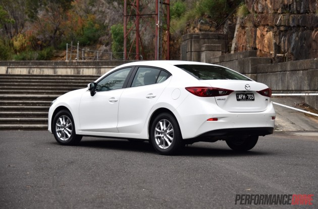 2016 Mazda3 Touring sedan-rear