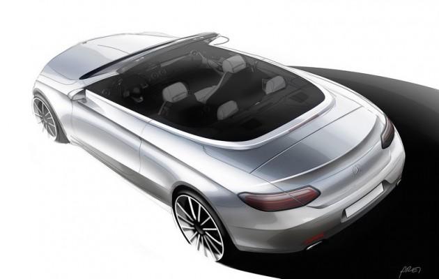 2016 Mercedes-Benz C-Class Cabriolet-sketch
