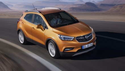 Opel Mokka X revealed before Geneva show debut