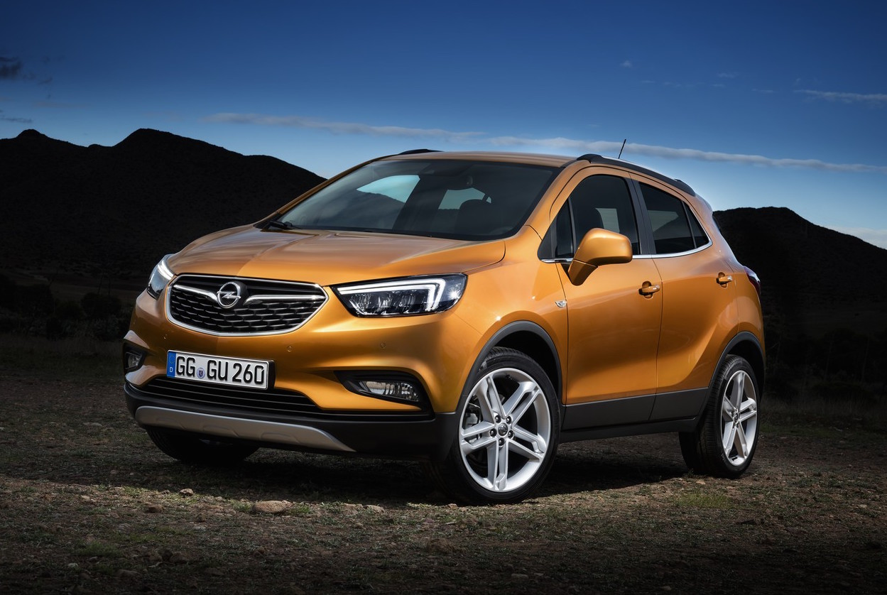 opel mokka x revealed before geneva show debut performancedrive. Black Bedroom Furniture Sets. Home Design Ideas