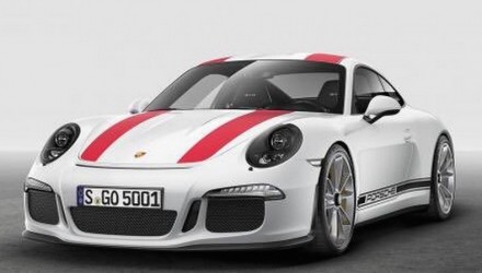 Porsche 911 R breaks cover; new bare-essentials GT3 special