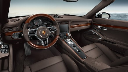 Porsche Exclusive reveals new options with 911 Carrera S cabriolet