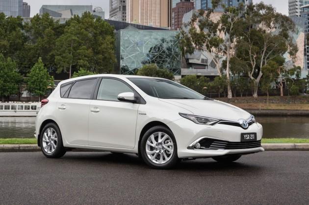 2016 Toyota Corolla Hybrid-Australia
