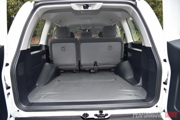 2016 Toyota LandCruiser GX-cargo area